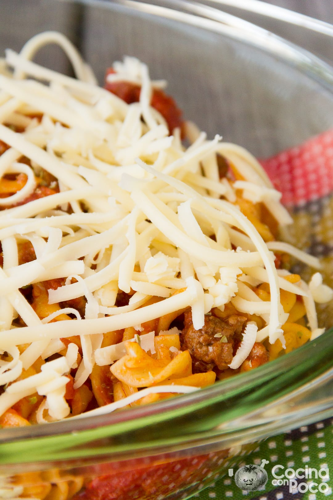 Macarrones con chorizo al horno gratinados cocina con poco recetas de cocina paso a paso con - Macarrones con verduras al horno ...